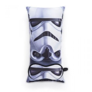 Almofada e tapa olho Star Wars Stormtroopers