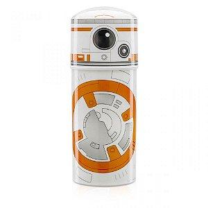 Garrafa Canudo Retrátil Star Wars BB8
