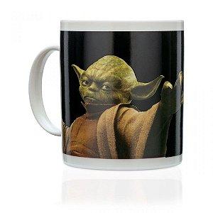 Caneca Termossensível Star Wars Yoda