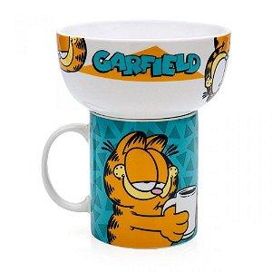 Caneca e Bowl Garfield