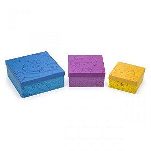 Kit de Caixas Smurfs