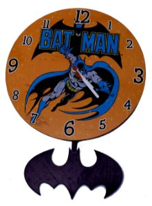 Relógio de Parede Batman