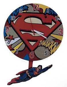 Relógio de Parede Superman