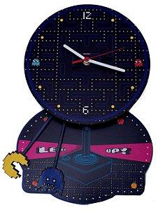 Relógio de Parede Pac Man