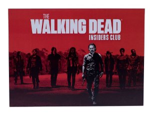 Placa The Walking Dead Insiders Club