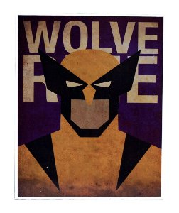 Placa Wolverine