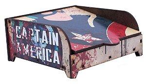 Porta Guardanapo Capitão América
