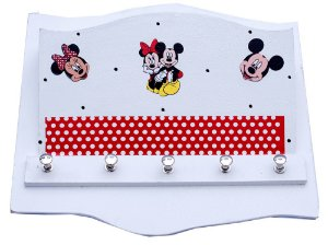 Porta Chaves e Porta Correspondência Mickey