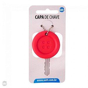 Capa de Chave Botão Divertido