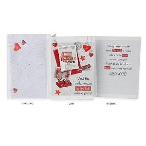 Cartão de Natal Amor e Carinho