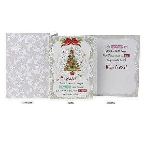 Cartão de Natal Árvore Especial