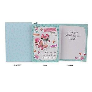 Cartão Borboleta Ocasiões especiais
