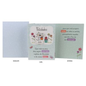 Cartão de Amizade Gato G