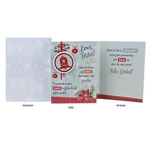 Cartão de Natal Sinos G