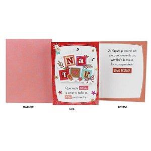 Cartão de Natal Quadros G