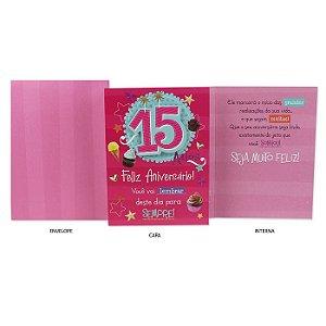 Cartão 15 Anos Ocasiões especiais G