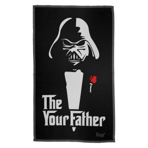 Pano de Prato Star Wars Dark Side The Your Father