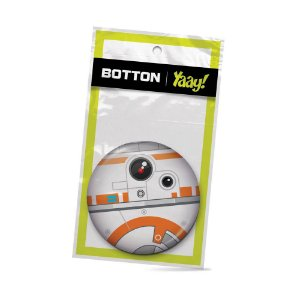 Botton Geek Side Faces - BB8