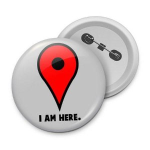 Botton I Am Here
