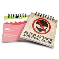 Bloco de Anotações The Alien Survival Guide