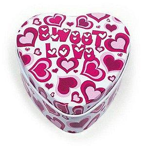 Latinha Coração Sweet Love