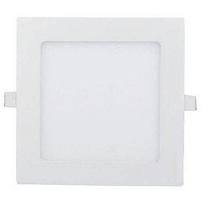 Painel Embutir 15W Quadrado Branco Quente
