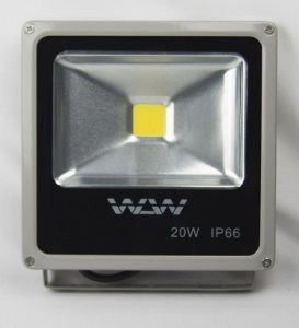 Refletor De LED 20W 4000k Branco Neutro IP66