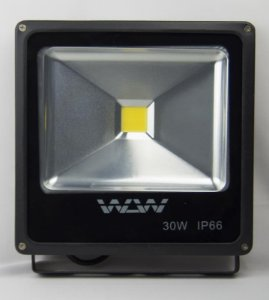 Refletor De LED 30W 4000k Branco Neutro IP66