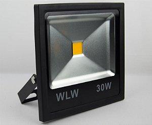 Refletor De LED 30W luz Amarela Ambar IP66