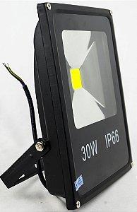Refletor De LED 30W 6500k Branco Frio IP66
