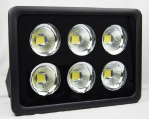 Refletor de LED 300W 6500k Branco Frio Bivolt 1 ano de garantia