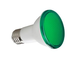 PAR 20 SAVEENERGY 7W VERDE -25-BIVOLT IP54 2anos GarantiaSE-110.500