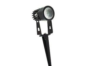 Luminária de Jardim LED Espeto 5W Amarela Ambar Embuled 1 ano de garantia 60359