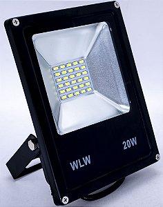 Refletor Holofote Led 20W SMD 6500K Bivolt Branco Frio