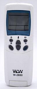 Controle Remoto Para Ar Condicionado Lg Tipo Split Ou Janela wlw-2850