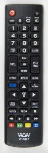 Controle Remoto P/ Tv Smart Lg WLW-7027