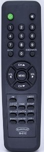 REF W-012A - CONTROLE UNIVERSAL PARA TV