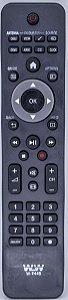 Controle Remoto Tv Philips WLW-7445