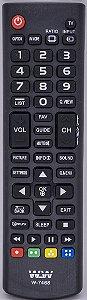 Controle Remoto Para Tv Led Lg WLW-7468