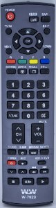 PLANETA-CONTROLE REMOTO  LCD PANASONIC REF:7923