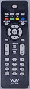 Controle Remoto CR-2255 TV PHILIPS  WLW-7960