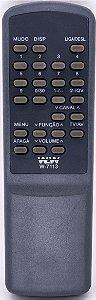 Controle Remoto TV MITSBUSHI REF:7113