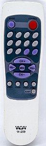 Controle Remoto TV MISUBISHI AIKO REF:W-258