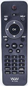 Controle Remoto PHLCO DVD REF:7236