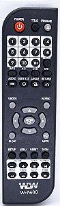 Controle Remoto DVD MONDIAL- REF:7400