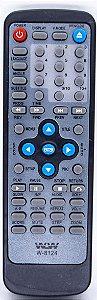 Controle Remoto DVD CCE 510 REF:8124