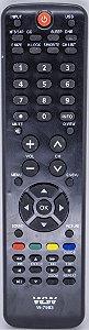 Controle Remoto Compatível Com Tv Buster Lcd Modelo WLW-7963