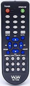 Controle Remoto  DVD INVOX- REF:7465