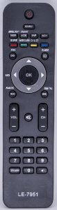 Controle Remoto Tv Philips WLW-7951