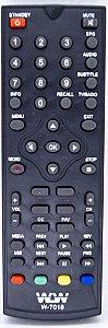 Controle Remoto  DVD VHF REF:7018